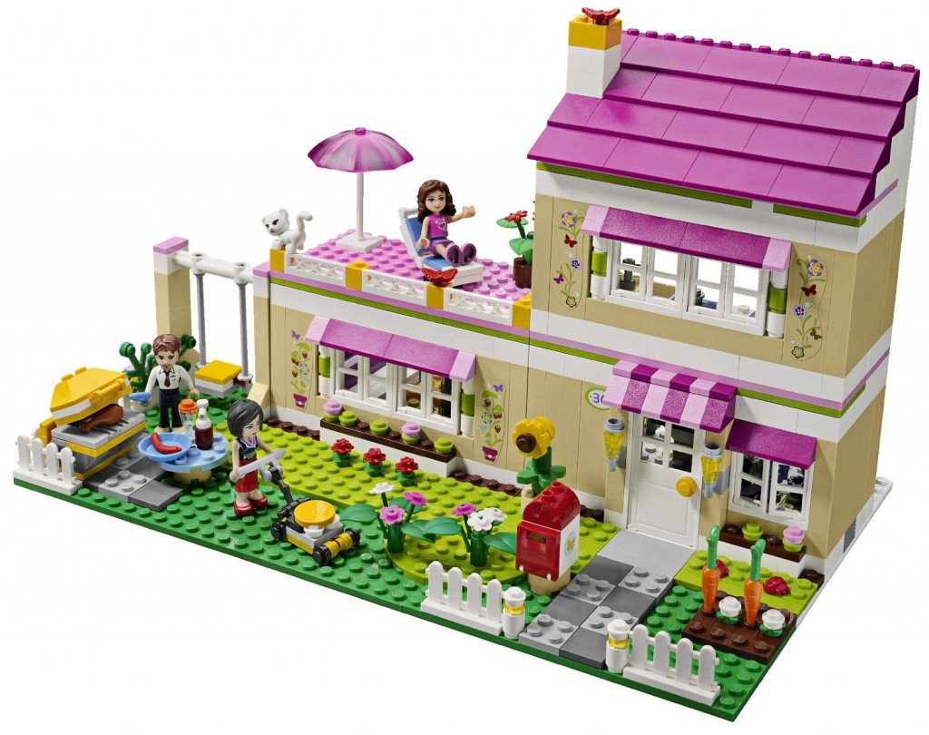 lego friends traumhaus heartlake city 3315 olivias haus. Black Bedroom Furniture Sets. Home Design Ideas