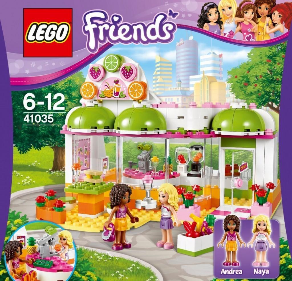 Fan Designed Lego Friends Heartlake City: LEGO Friends 41035 Saft- Und Smoothiebar In Heartlake City
