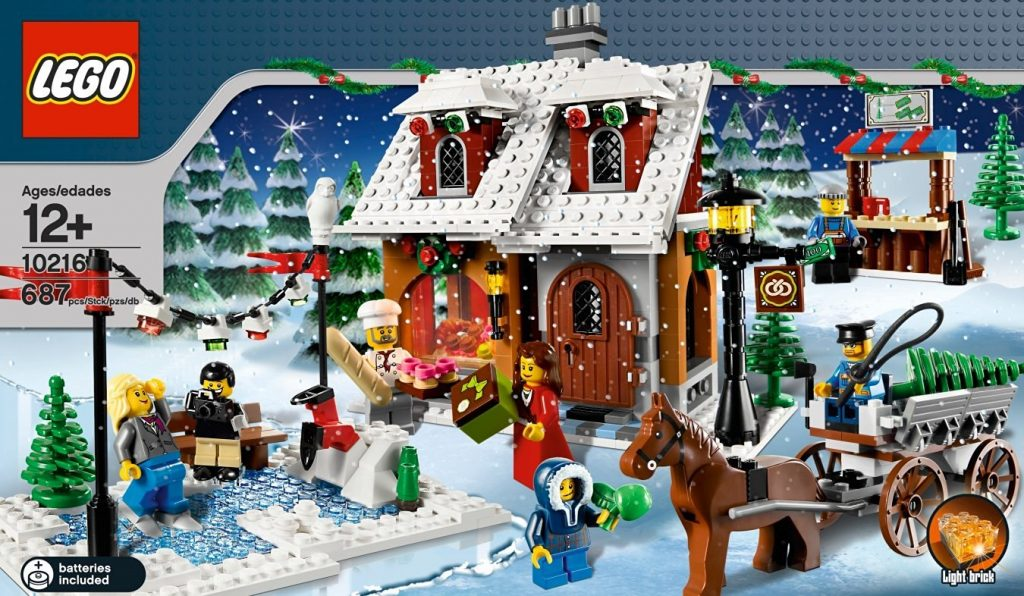 weihnachten bei lego creator sets f r bausteine experten. Black Bedroom Furniture Sets. Home Design Ideas