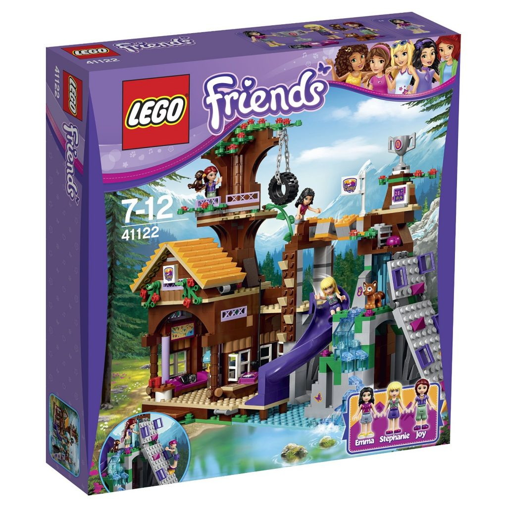 lego friends 41122 abenteuercamp baumhaus in heartlake city. Black Bedroom Furniture Sets. Home Design Ideas